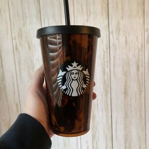Small Starbucks tortoise shell tumbler